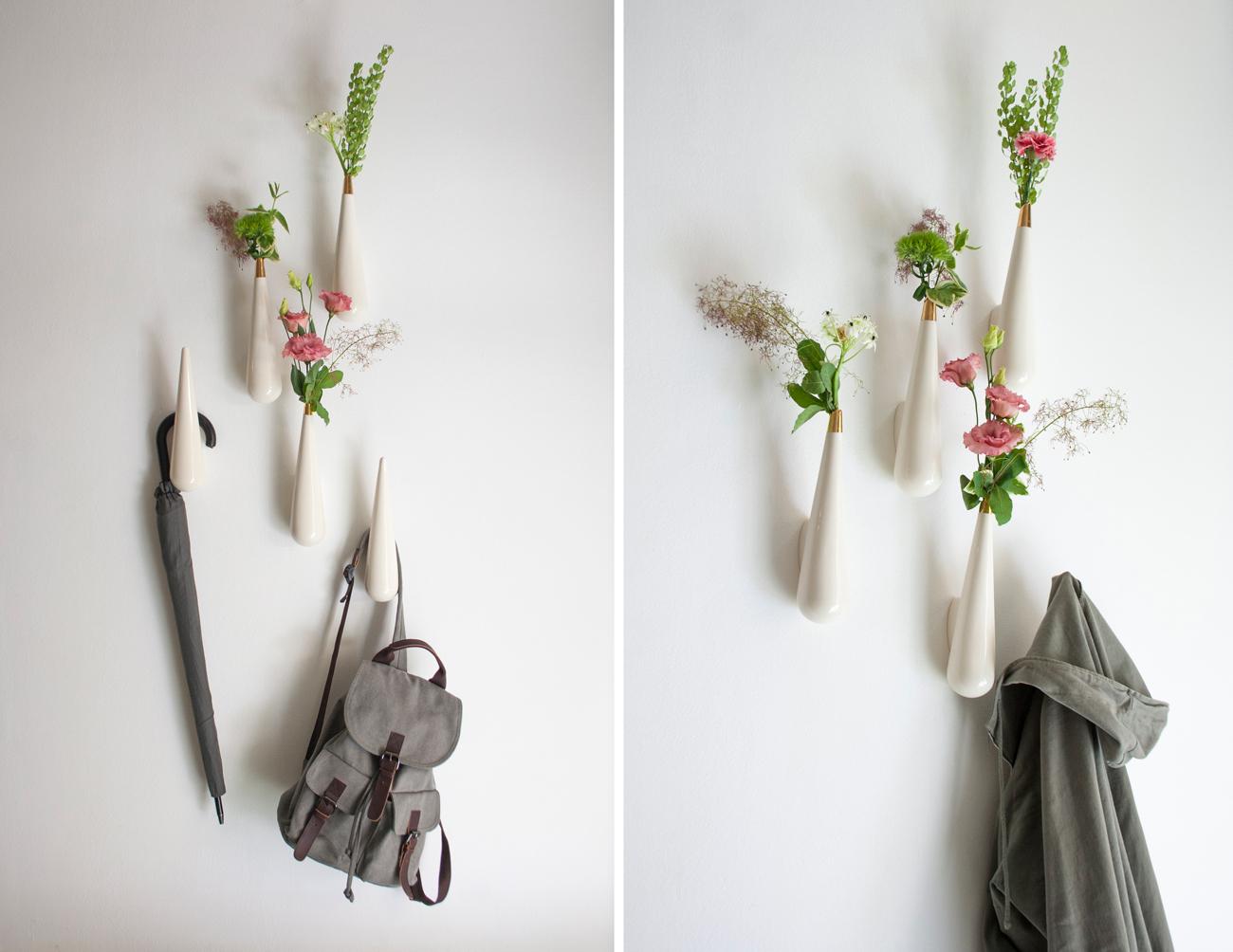 Hangers and Vases Rain