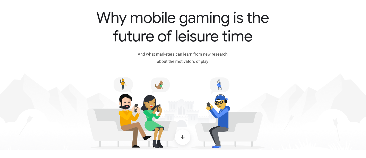 Owned concept, story, research, and copy from pitch to execution for this  interactive feature  about mobile gaming. Worked with amazing production team to bring it to life.