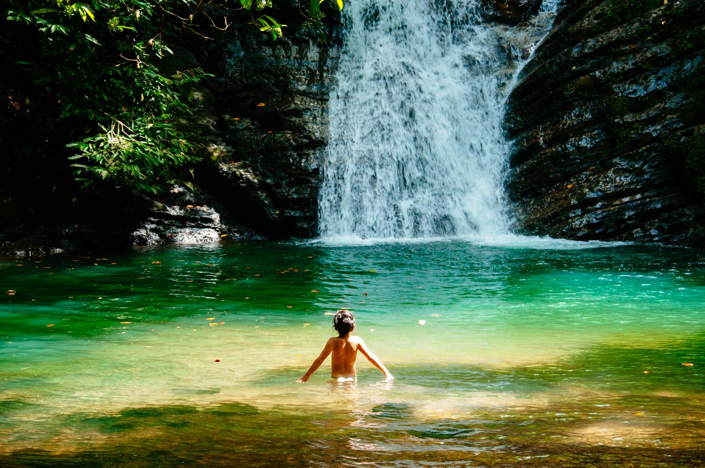 Dominicalito waterfall, Costa Rica