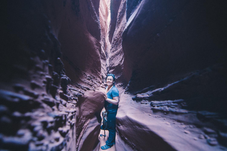 Spooky Canyon, Utah