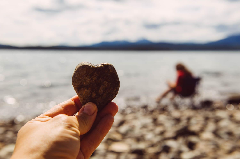 I hope they keep bringing me heart-shaped rocks until I am an old grandma…