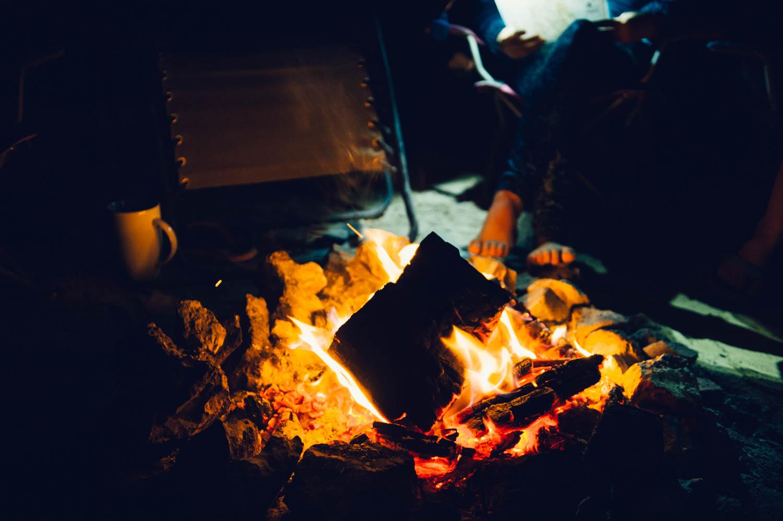 Bonfires. Almost nightly.