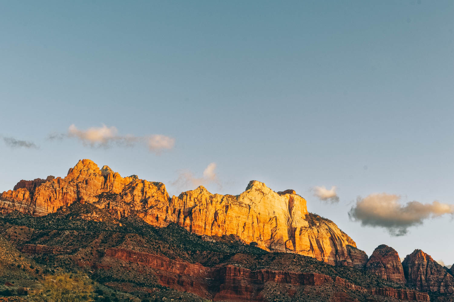 Sunrise over Zion