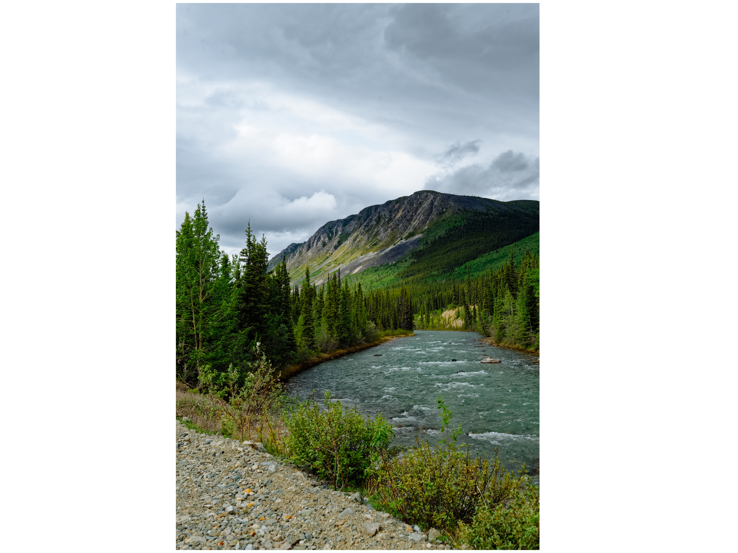 Mt. Anderson is located in the beautiful Wheaton River Valley.