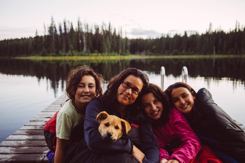 At Boer Mountain, British Columbia, September 2015