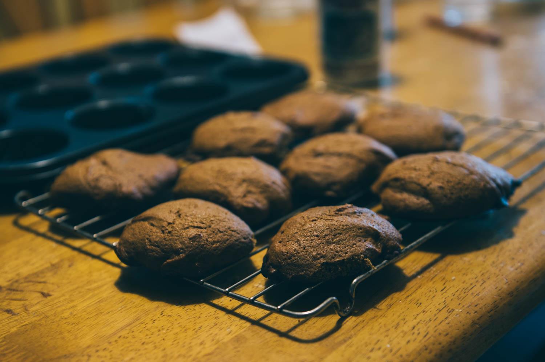 Aïsha made Mémé's molasse's cookies