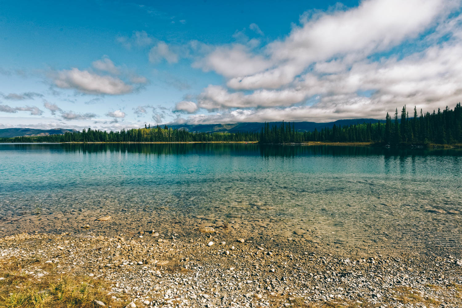 We stopped at Boya Lake on the Stewart-Cassiar Highway for a little hike.