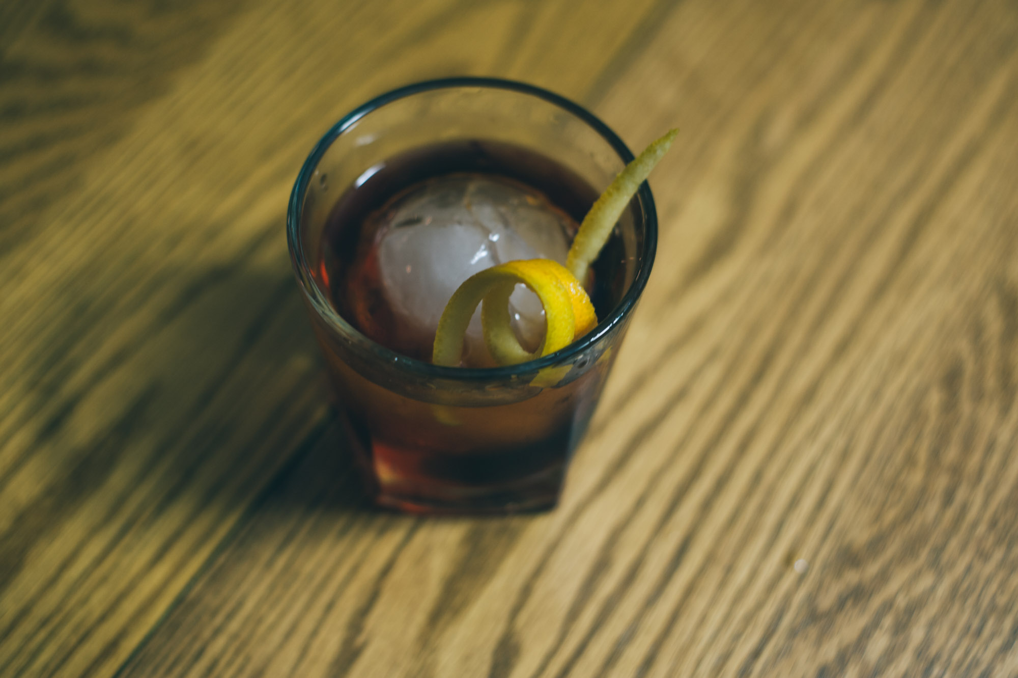 Only a perfect Negroni could do for such a night...