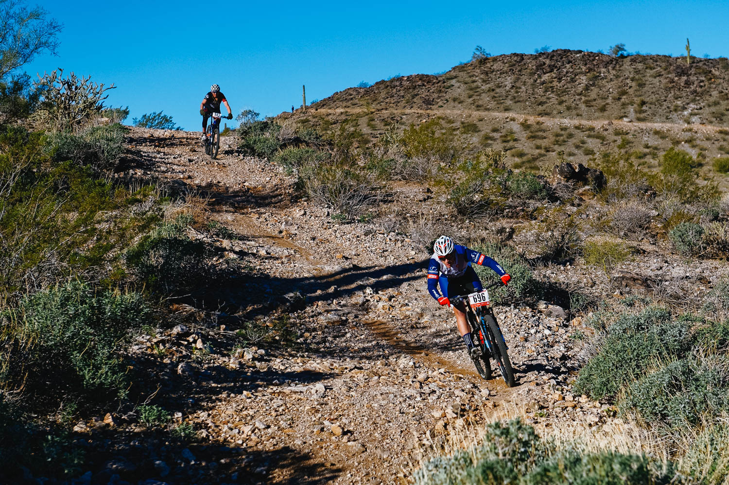 The Estrella course is the gnarliest of the MBAA race series. It's chunky, loose and steep.