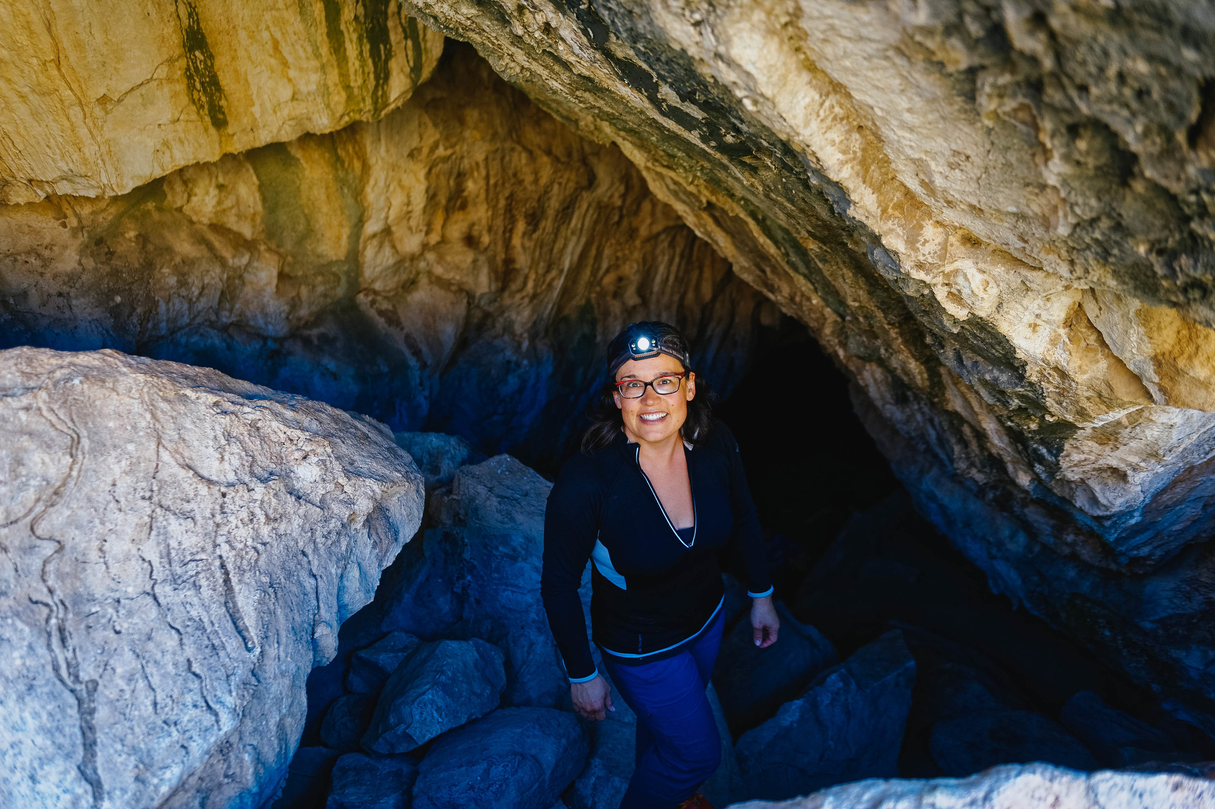We went to explore the  Coronado Cave , one of the biggest unimproved cave in AZ. It's a half mile uphill hike to the cave. I highly recommend you check it out!