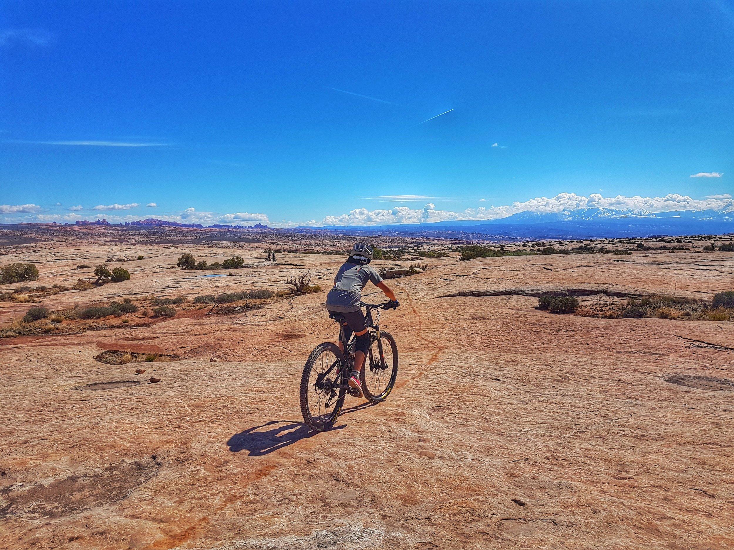 Circle-O trail, Moab Brand trail system.
