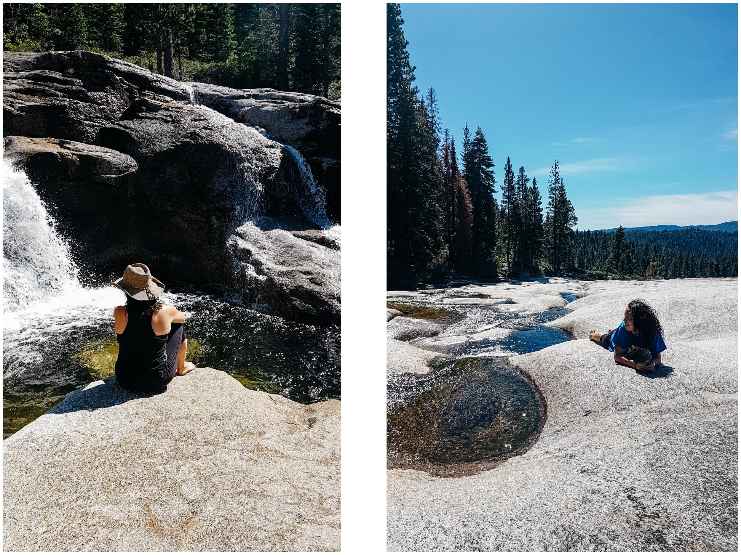 Bassi Falls paradise.