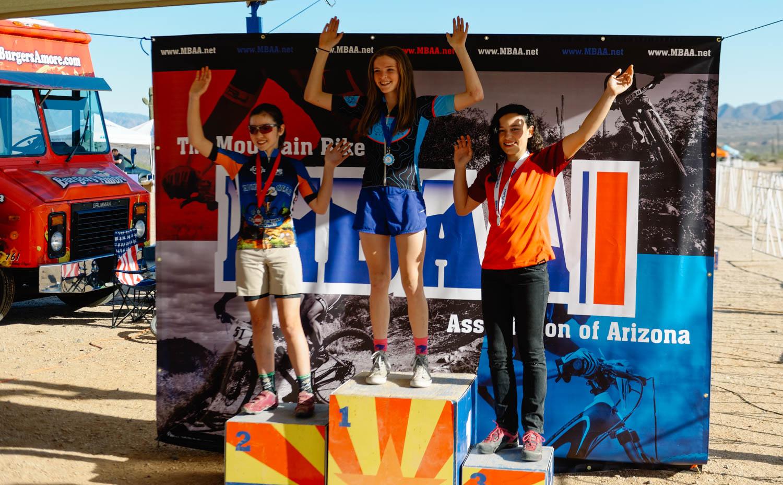 Mara came in third (over 14 girls) in her category (13-14 yo girls)!!