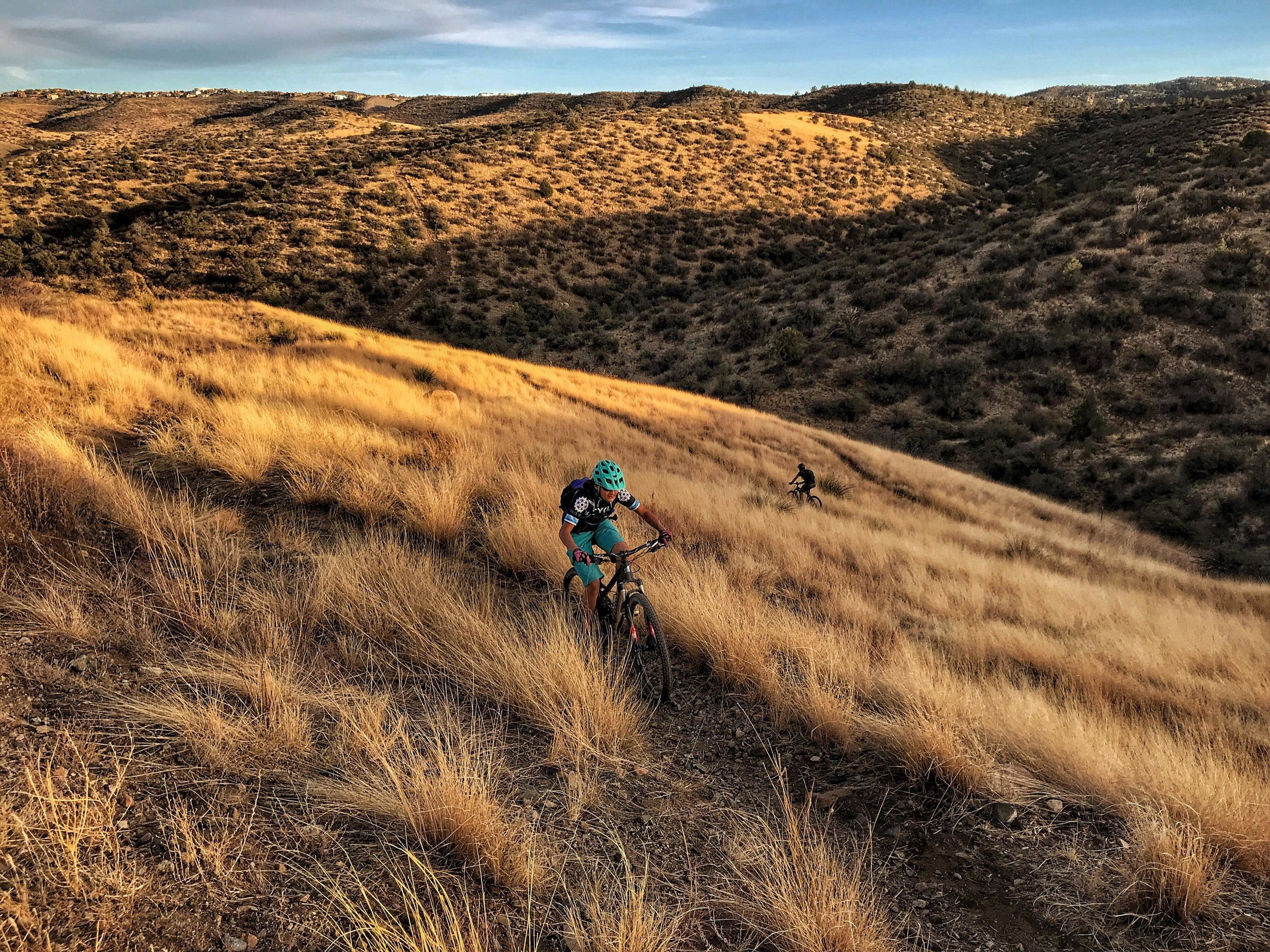Riding the Sundog Trail. Photo by Jason Liske.