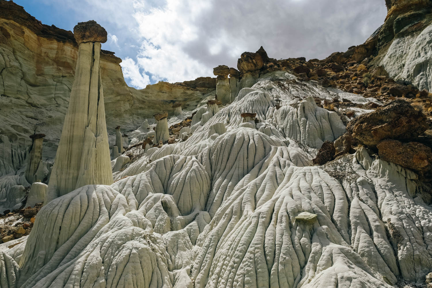 The Towers of Silence, the most stunning formatio.and truly a wonder of the geological world.