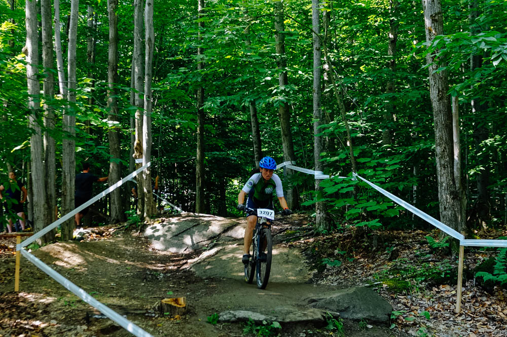Aïsha had a great race on the Sunday XCC event of the Quebec Cup in Sherbrooke, even with the crazy heat.