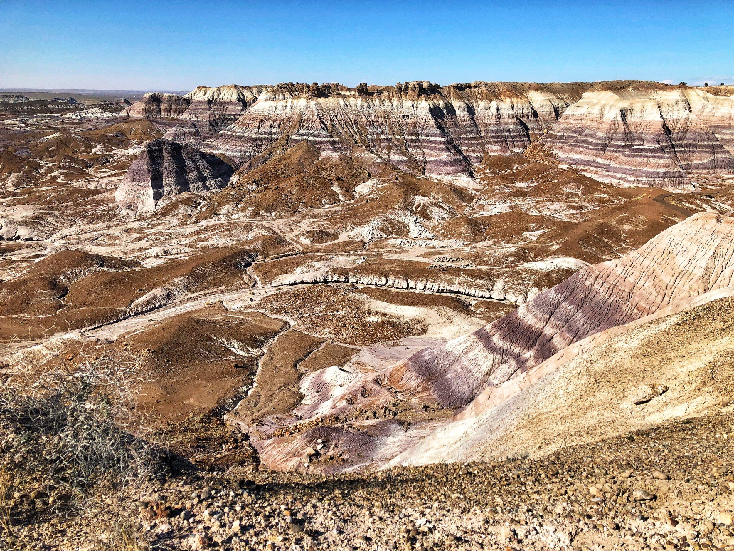 Blue Hill Mesa.