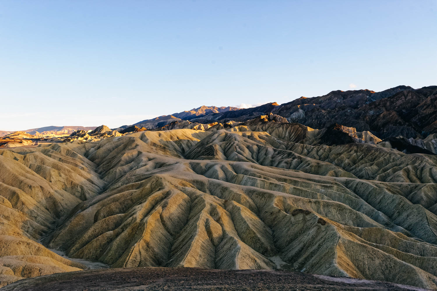 fc8da148d010d Zabriskie Point is the Delicate Arch of Death Valley National Park and  people gather there at