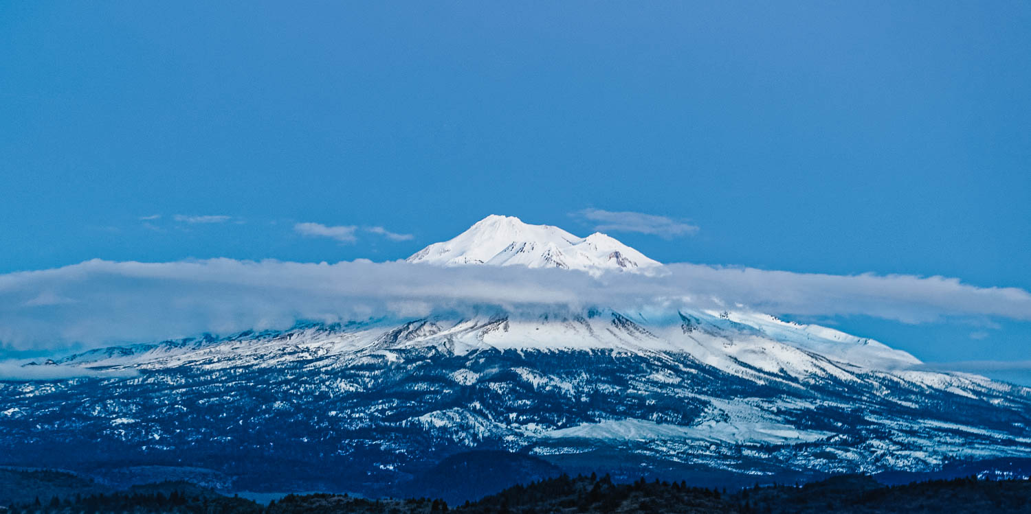 "Lenticular clouds around Mount Shasta.  Mount Shasta straddles the territories of the Shasta, Wintu, Achumawi, Atsugewi and Modoc tribes. Not surprisingly, the imposing mountain shows up in a lot of tribal myths and stories. Mount Shasta has been identified by many experts as a spiritual and cosmic energy point, a landing area for UFOs, and even an entry point that leads into the fifth dimension, and as access to underground civilizations.  It is also known for its many mysterious disappearances throughout history. One of the most recent cases occurred in 2011 when a 6-year-old boy disappeared for about 5 hours while playing in the woods. According to witnesses, the boy suddenly vanished from sight in a second and reappeared 5 hours as if nothing had happened.  Regardless of what one believes about the mountain, it's easy to see why it has so many legends to its name. Shasta is a ""non-denominational mountain,"" a blank slate for wonder — and even transcendence. This is nothing new. The Greeks had Olympus; Moses had Sinai. And spiritual seekers in the modern age have Mount Shasta."