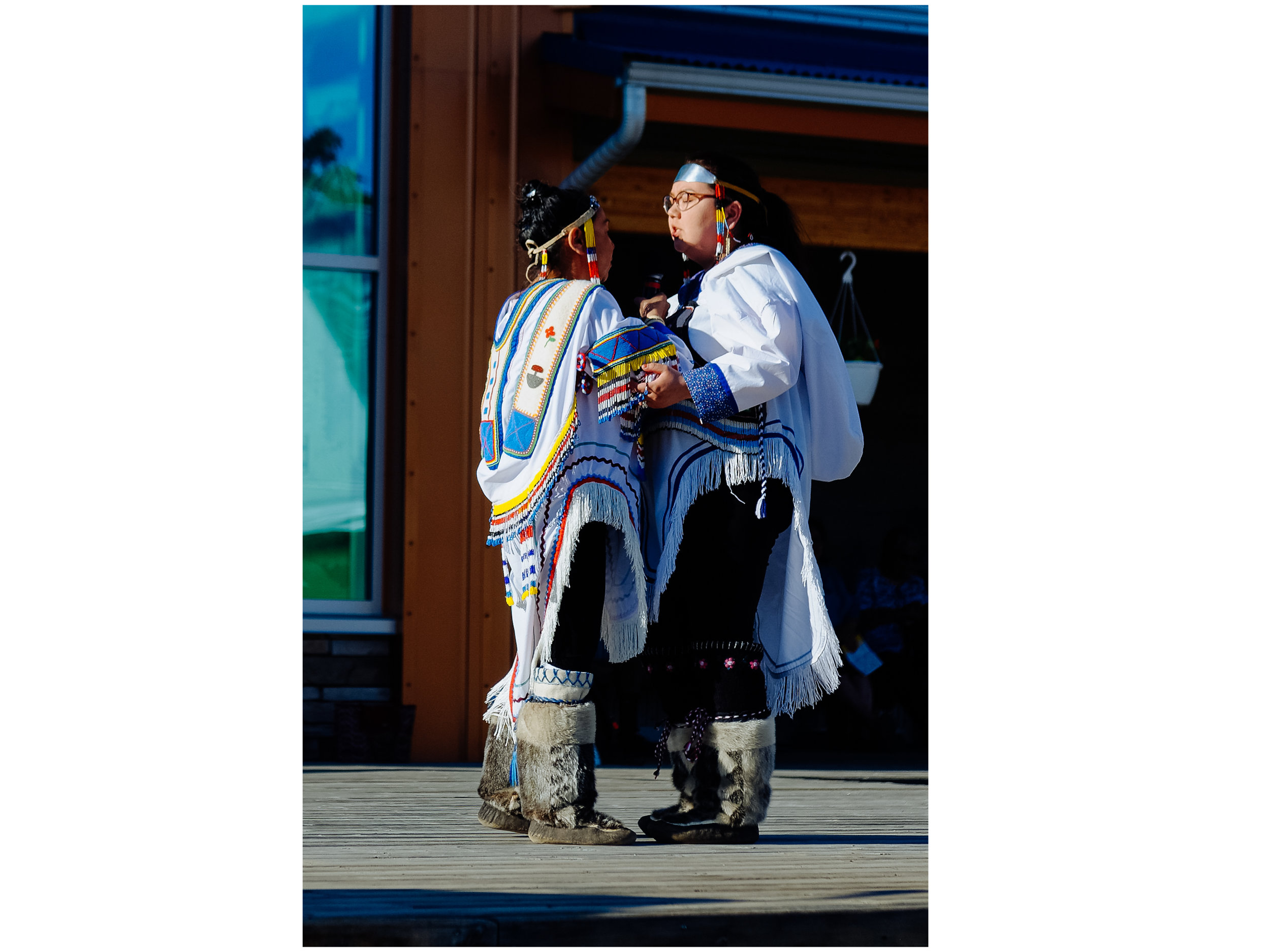 Throat singers from Nunavut