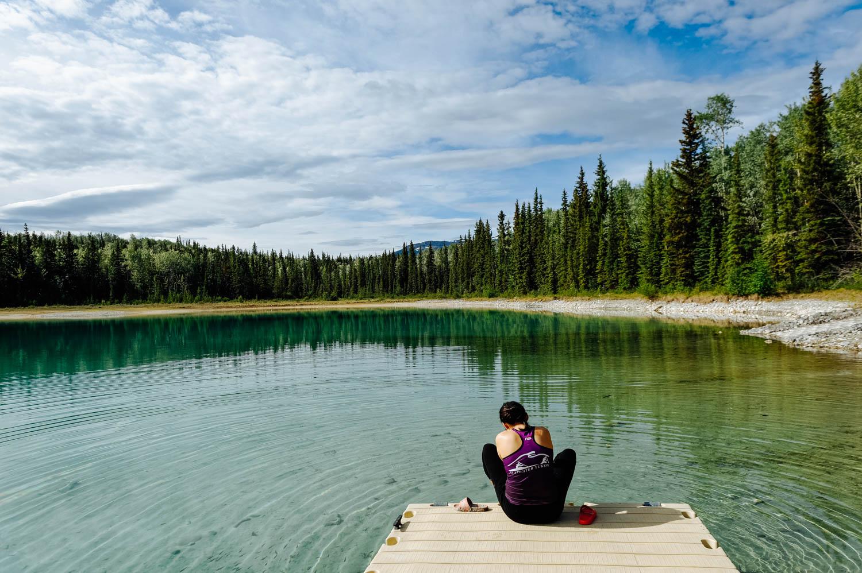 Boya Lake Provincial Park.