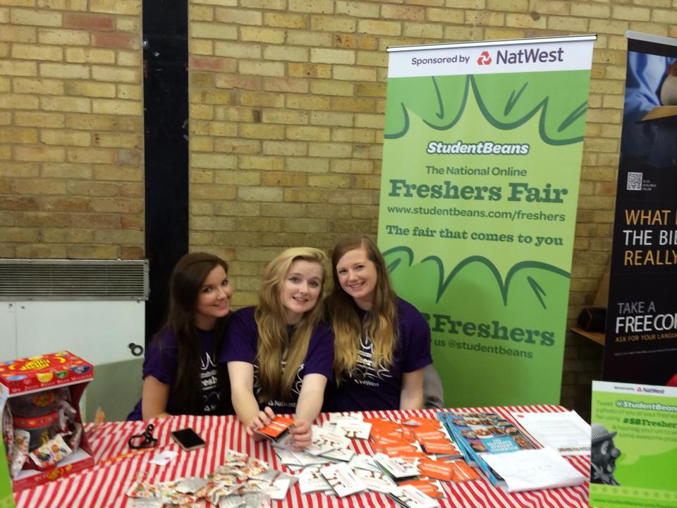 Our awesome Campus Brand Managers at the University of Southampton