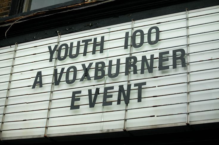The Youth 100 was held at MC Motors in East London