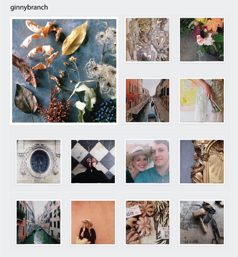 ginny branch Instagram spotlight