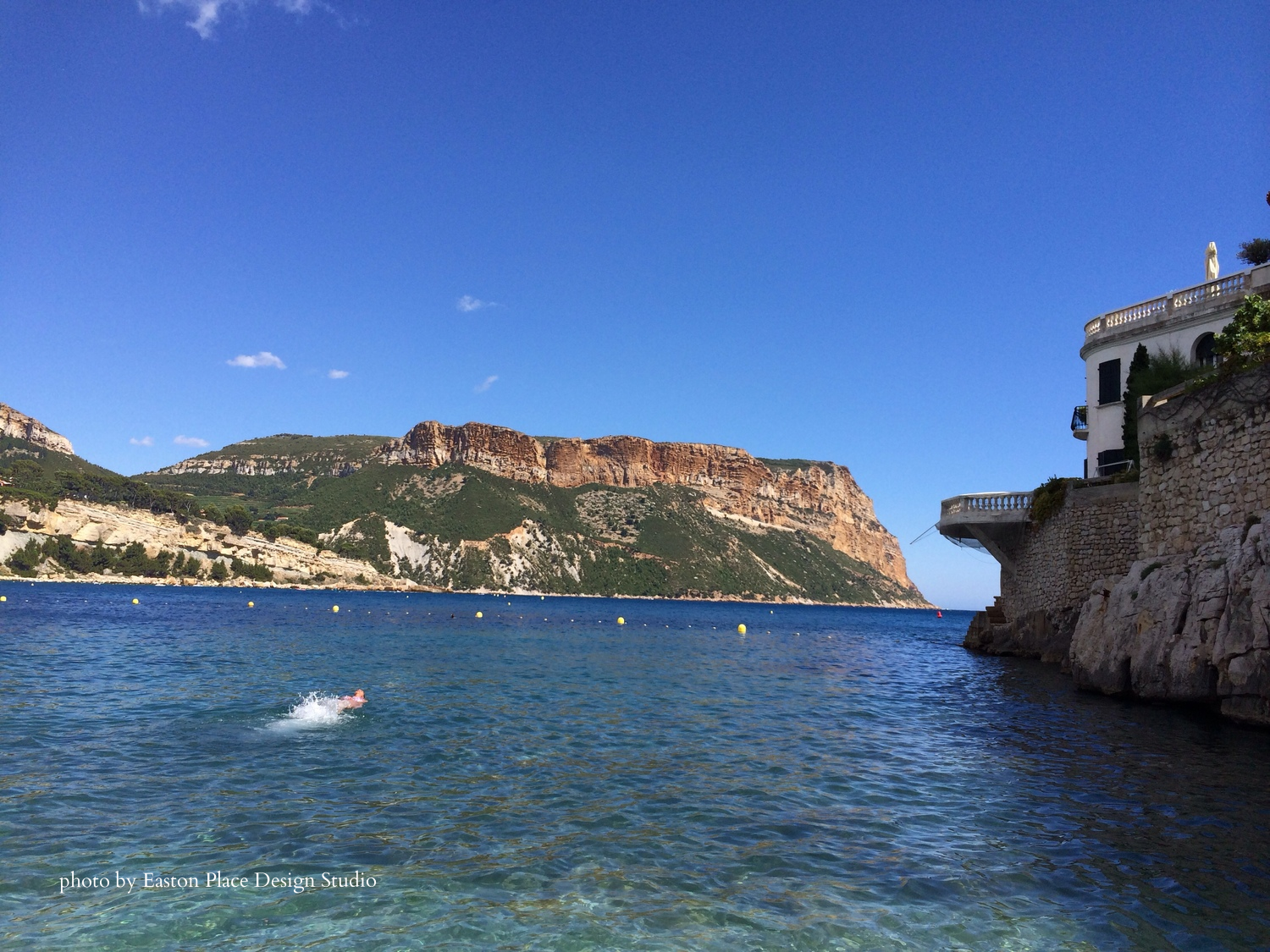 Cassis France photo by Easton Place Design Studio