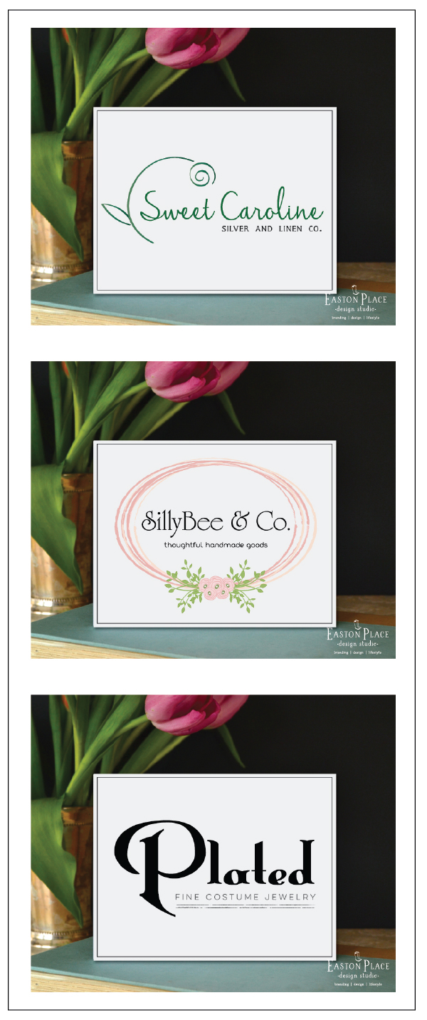 pre-made logos by easton place designs studio March 2015