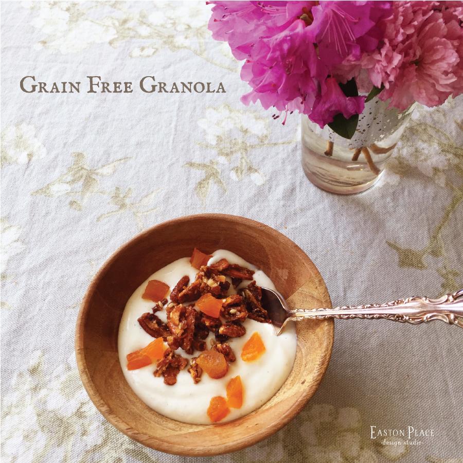 Grain Free Granola by Easton Place Design Studio