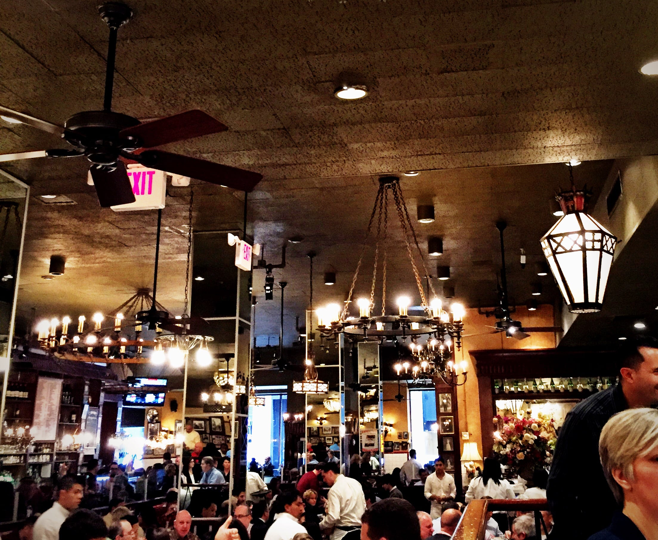 Lunch at  Carmine's  in NYC is always festive and delicious!