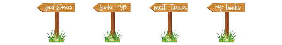CafeTerraBlog garden signs by Easton Place