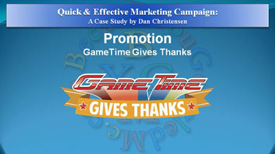 Quick & Effective Marketing Campaign - Case Study