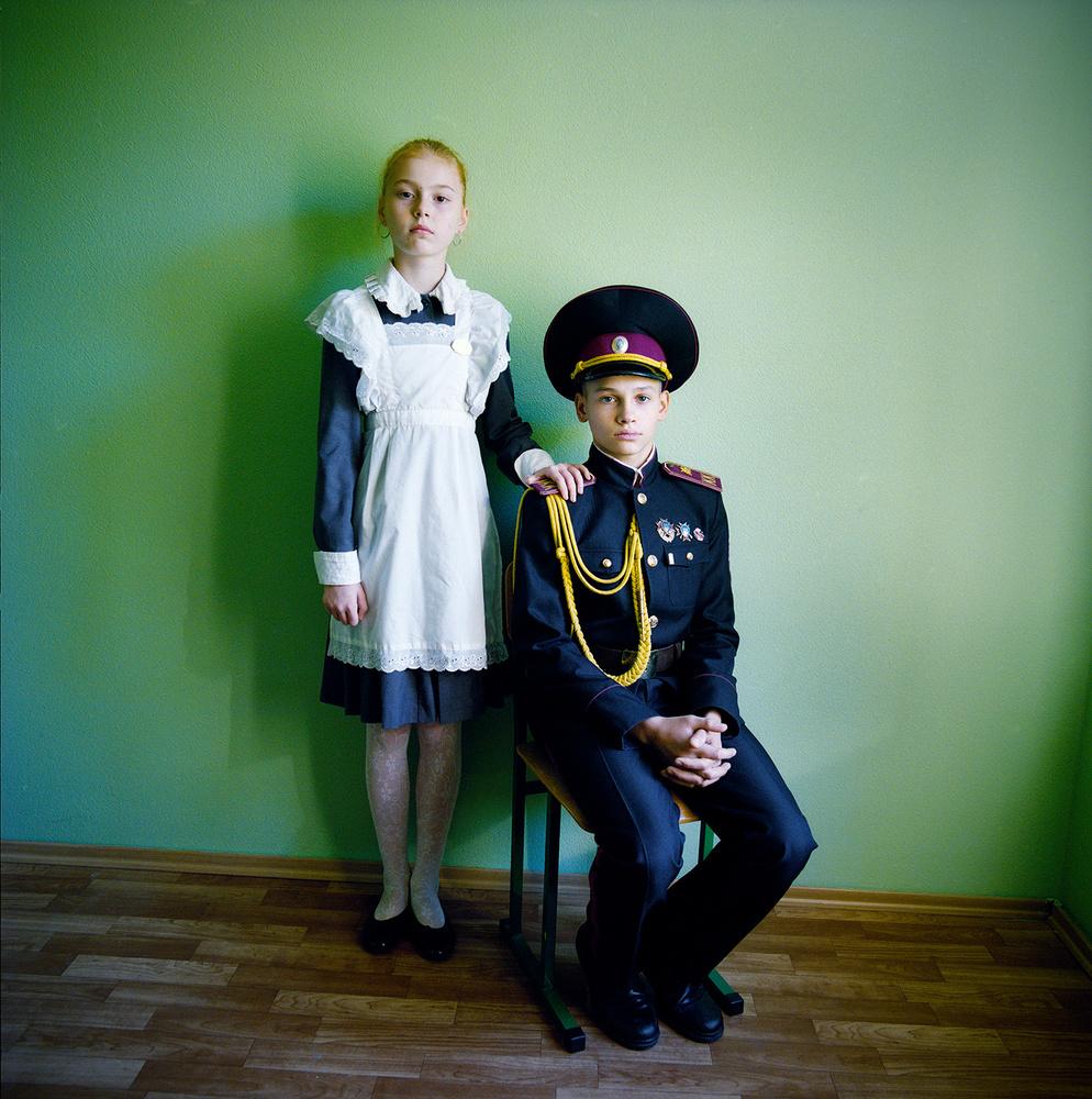 Ukraine's Military Boarding Schools    Photographs by Michal Chelbin