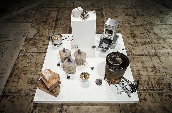 Thomas Thwaites, The Toaster Project, 2010. Installation view, 2012 ZERO1 Biennial. Photo Patrick Lydon %2F www.e-flux.com%2Fannouncements%2Freset-modernity%2F.JPG