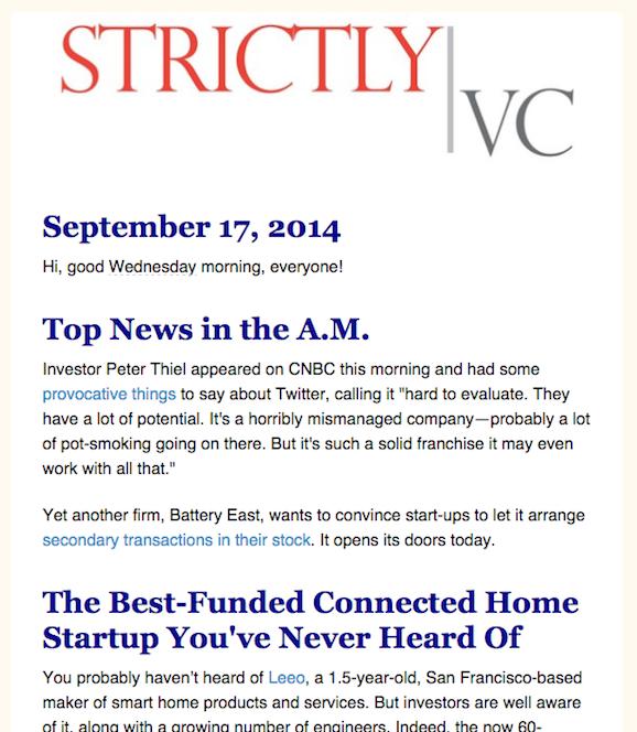 StrictlyVC