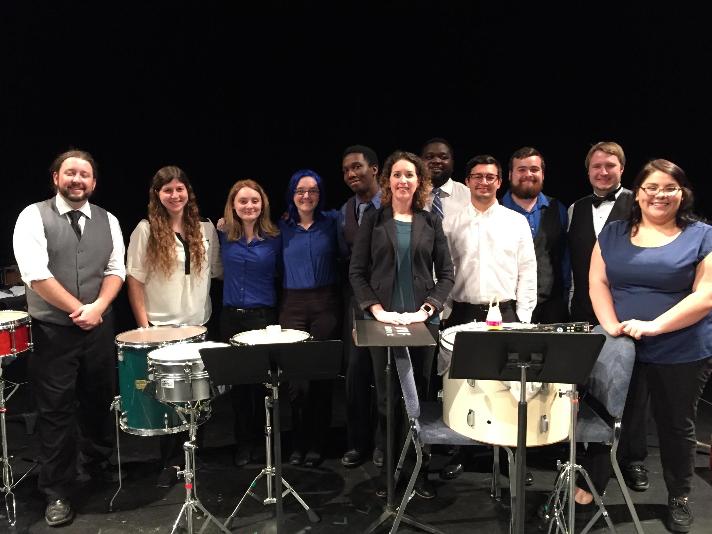 Pensacola West Percussion Ensemble