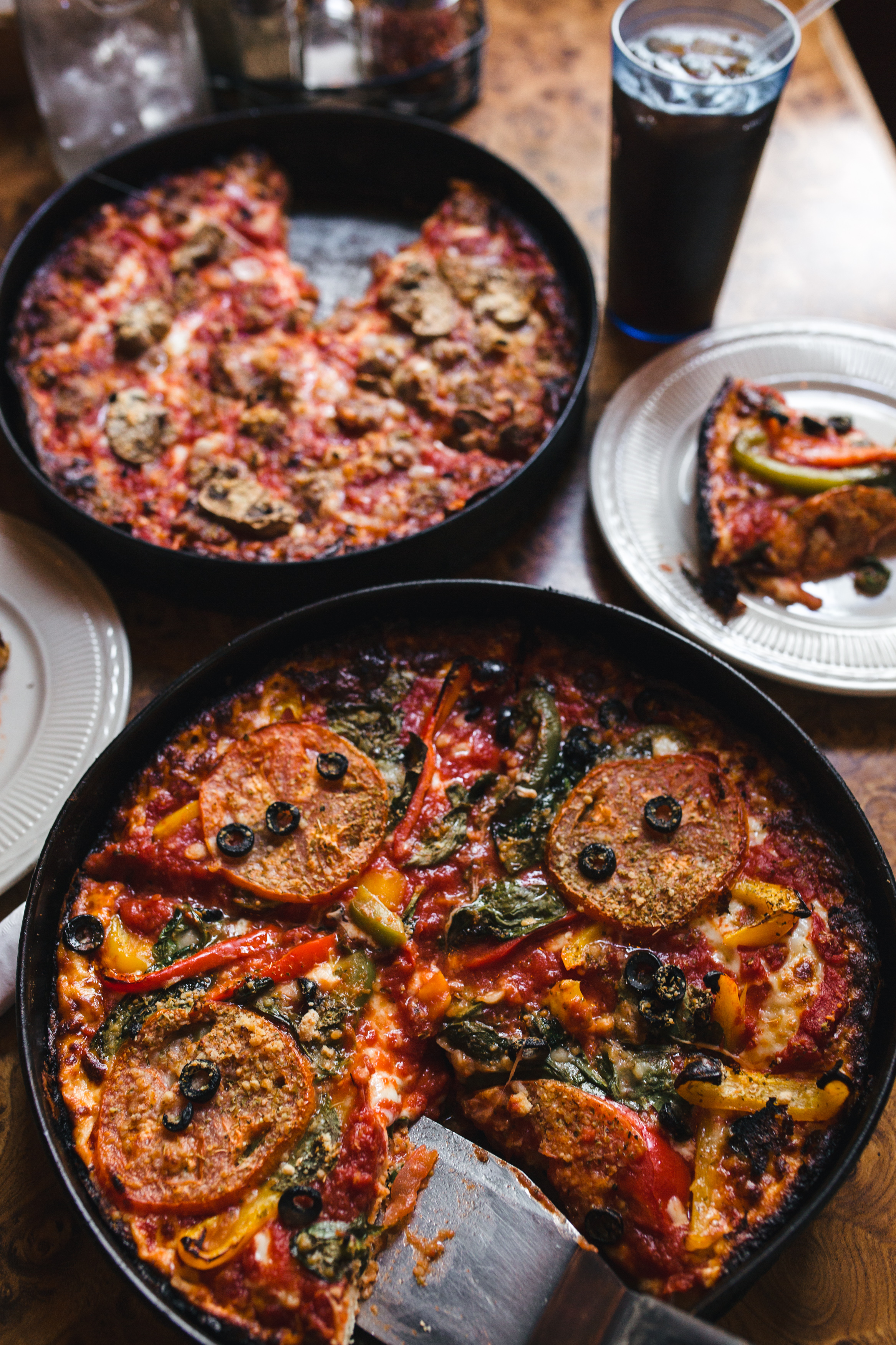 chicago food photography // burt's pizza // sandy noto
