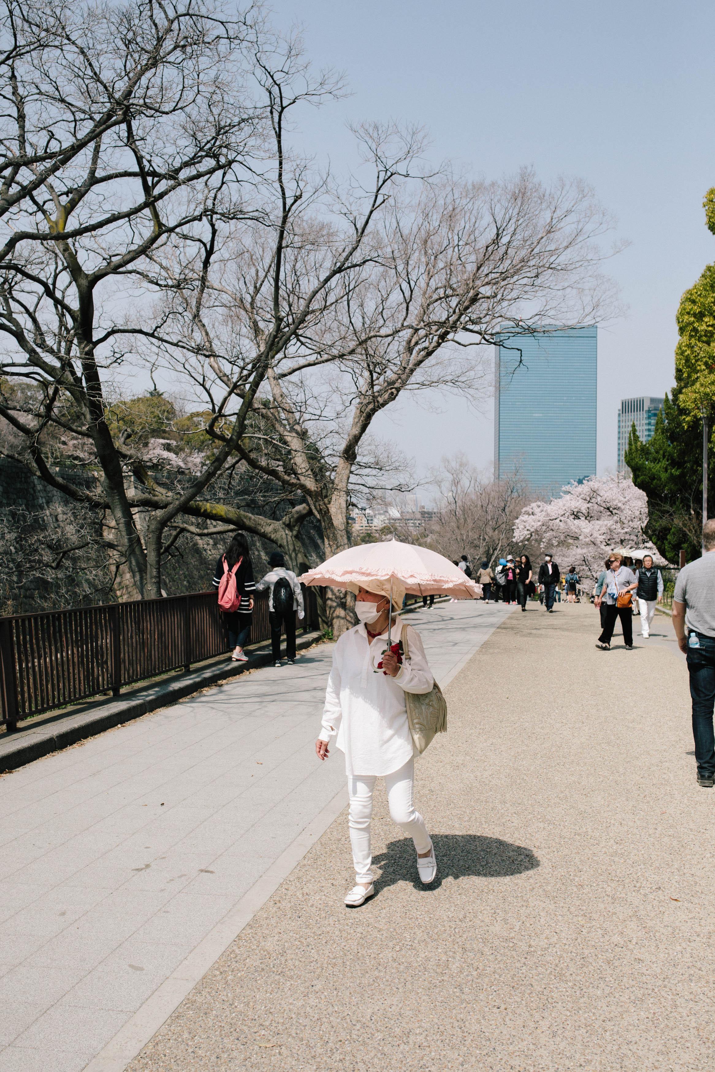 Photographing Osaka
