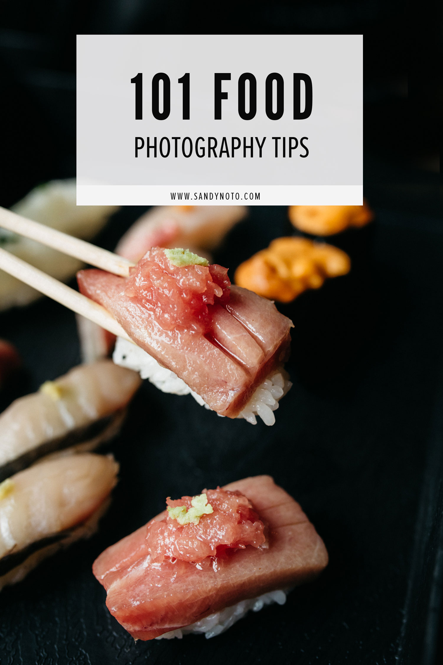 101 Food Photography Tips