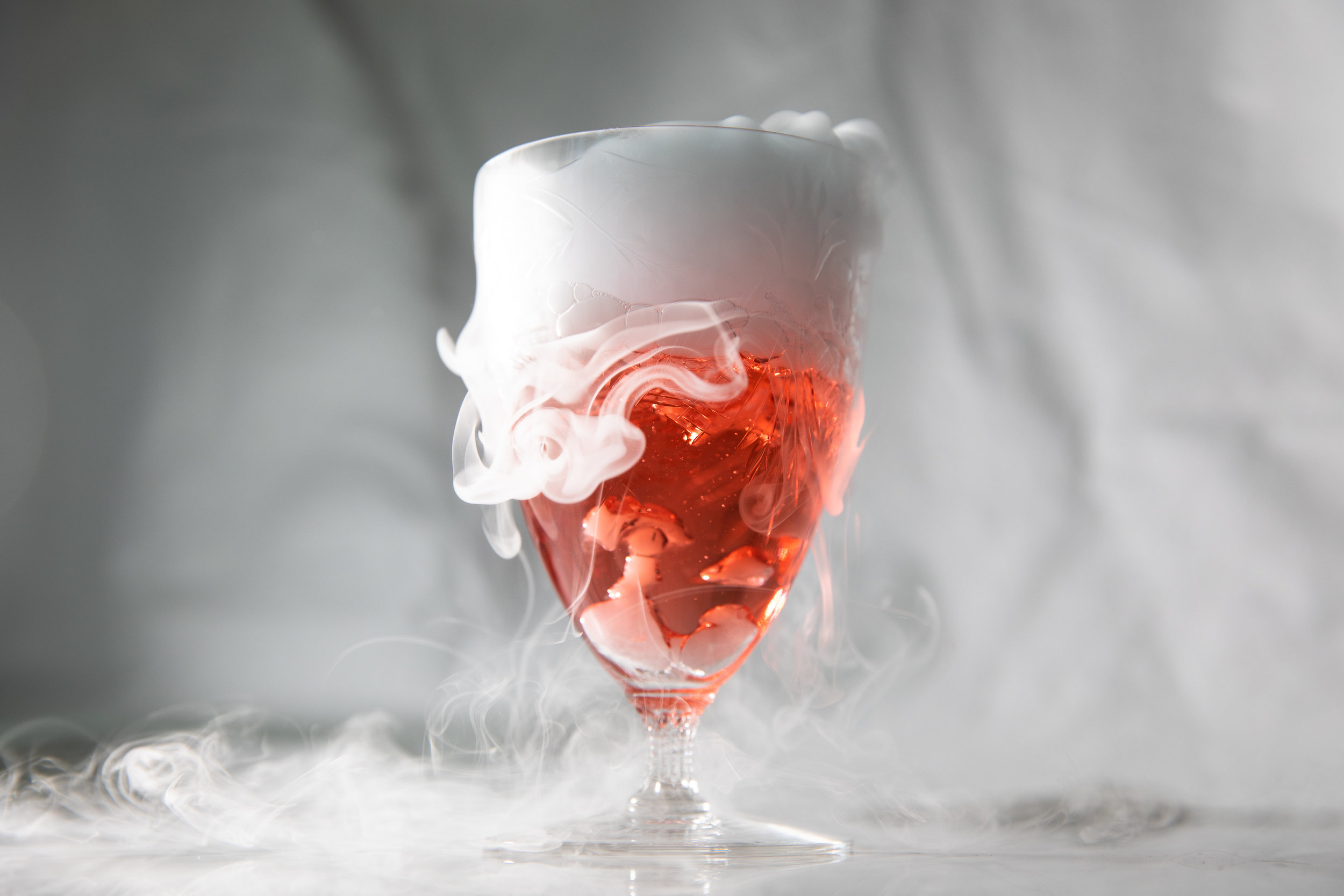 Tips for photographing dry ice