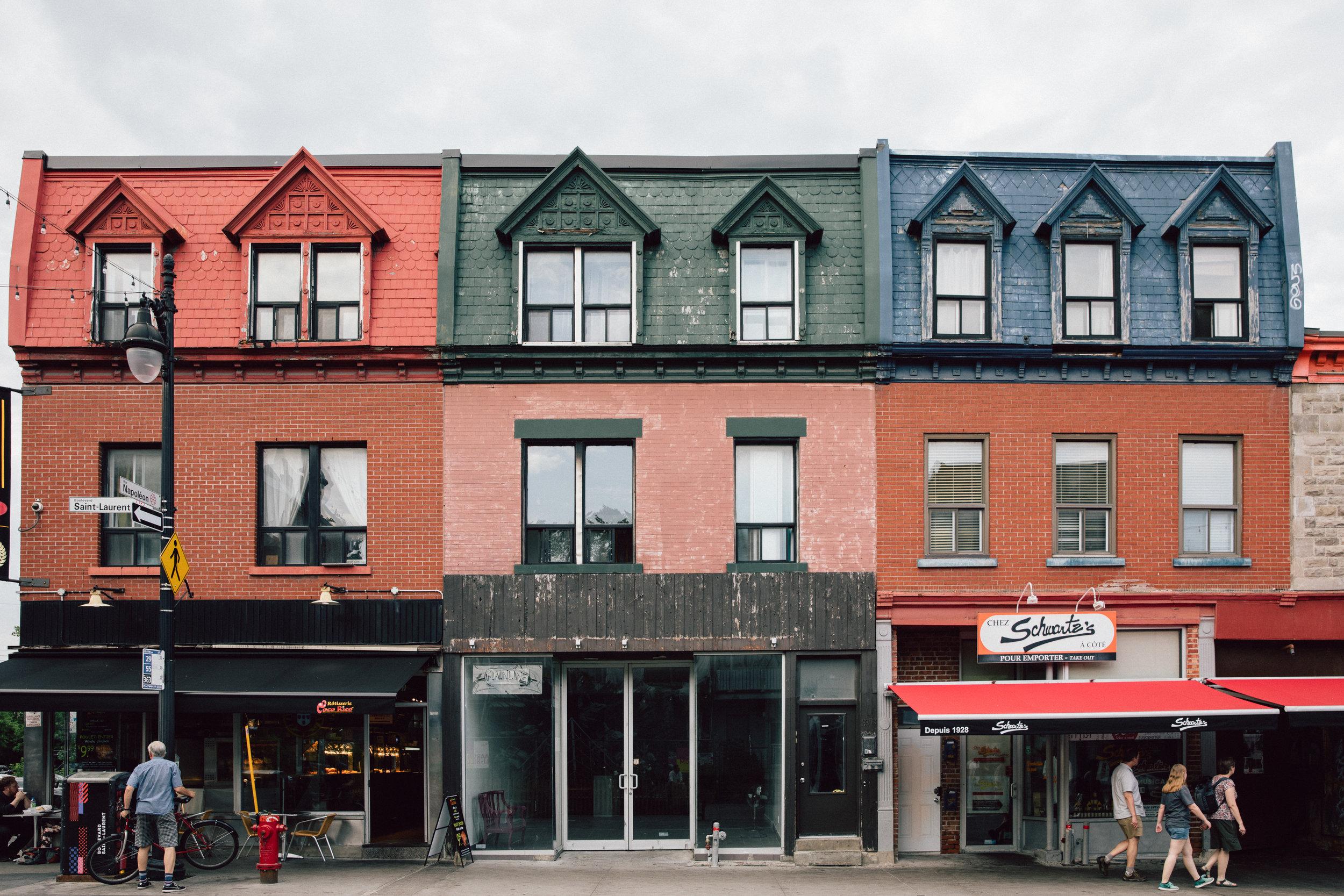 Montreal facades