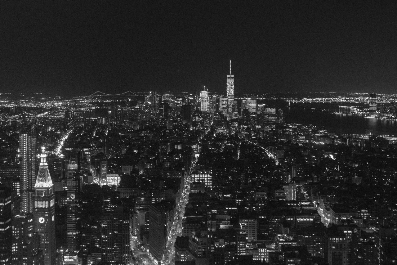 View from the Empire State Buiding