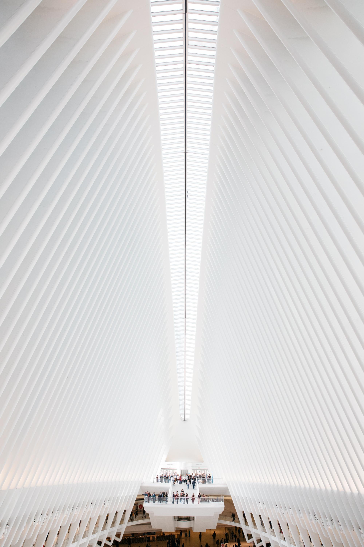 View of Occulus atrium in NYC