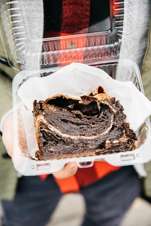 Chocolate Babka in Williamsburg