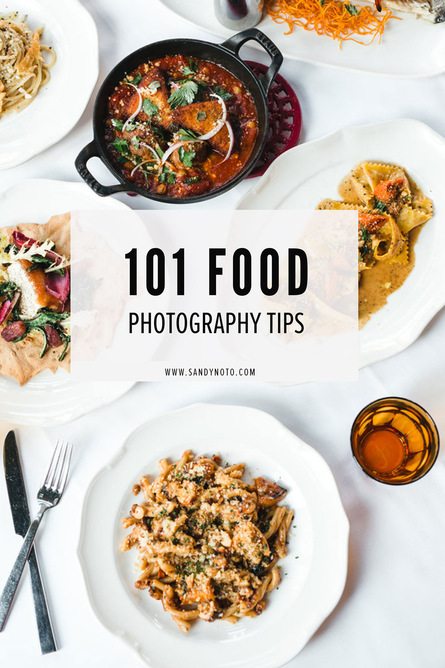 101 Food Photography Tips & Tricks