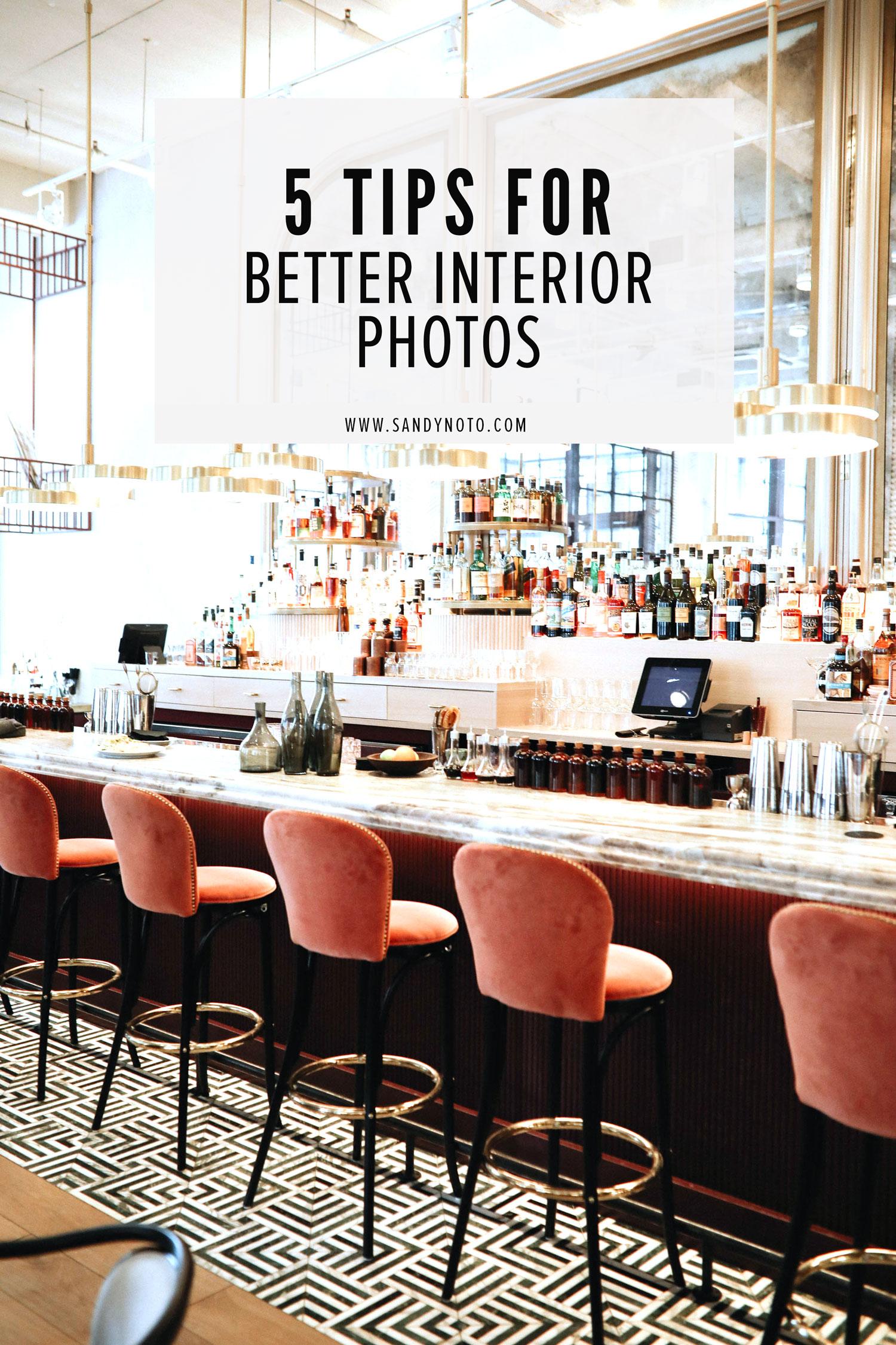 5 Tips for Better Interior Photos