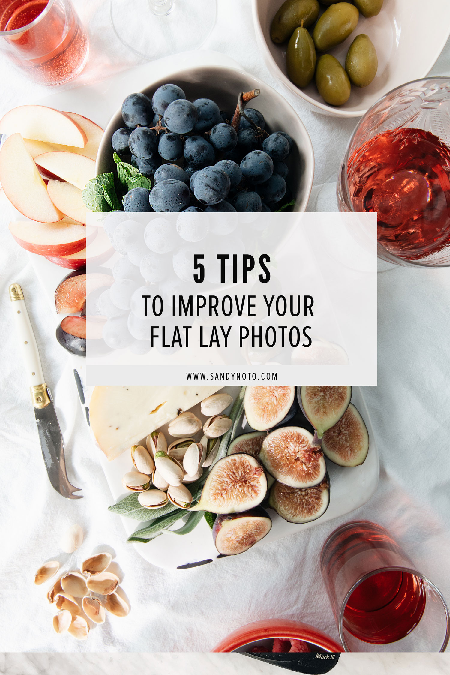 5 Tips for Flat Lay Photos