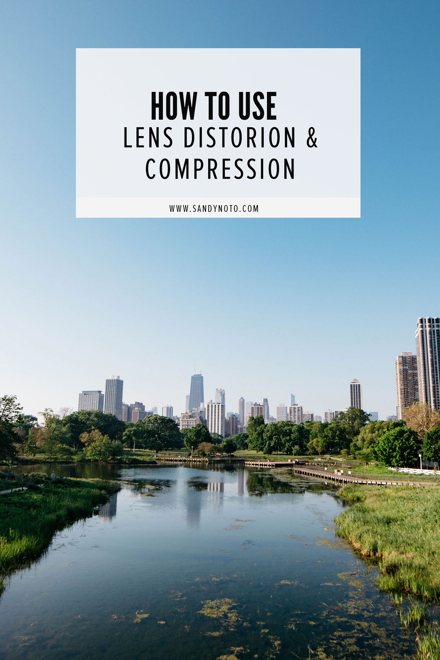 How to use lens distortion & compression